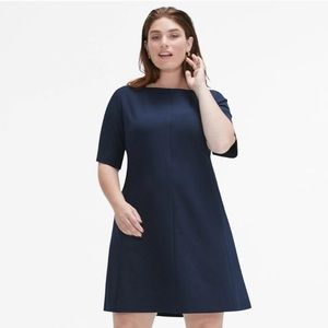 MM Lafleur The Emily Dress Size 3X +3 Galaxy Blue